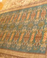 This is a finnish art deco rug circa 1940